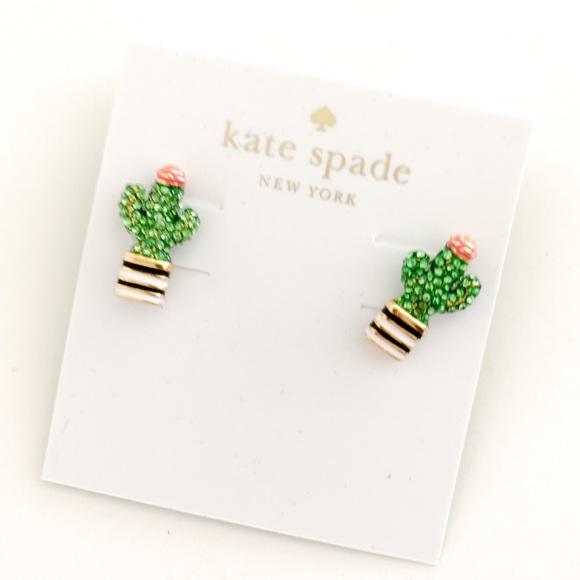 Kate Spade Jewelry Adorable Cactus Earrings Poshmark